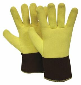 National Safety Apparel Thermal Gloves Terry Cloth kevlar 500 f Max Temp