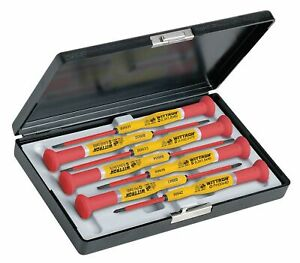 Witte Keystone Slotted phillips Insulated Precision Screwdriver Set Multicom