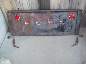 Vintage 50 S Original Ford Tailgate Hinges Chains Make A Bar