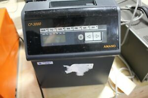 Amano Cp 3000 Time Clock