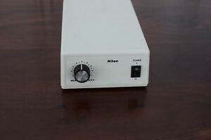 Nikon Te pse100 12v 100w Power Source For Microscope For Parts