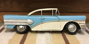Coupe Toy Car Wall Decor Shop Chevy Coke Gas Oil Vintage Style Bel Air