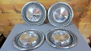 Set Of 4 Vintage 1960 Dodge Hubcaps Rat Rod Ford Chevy Olds Plymouth Chrysler
