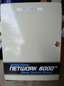 Barber Colman Siebe Invensys Network 8000 Global Control Module Gcm 84121 s 0 1