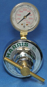 New Harris Calorific 96 100 Compressed Gas Regulator Two Stage Gauge