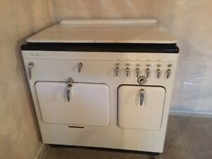 Chambers Model B Gas Stove Range Vintage White