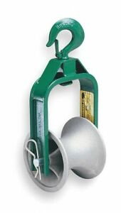 Greenlee Roller 24 Dia X 5 Width Cable Puller Sheave For Use With Mfr N