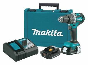 Makita 1 2 Cordless Hammer Drill driver 18 0 Voltage Battery Included
