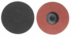 Norton 2 Coated Quick Change Disc Tr Roll on off Type 3 24 Extra Coarse