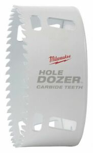 Milwaukee 4 1 2 dia Hole Saw For Metal 1 3 4 Max Cutting Depth 4 Teeth