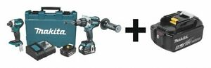 Makita Lxt Cordless Combination Kit 18 0 Voltage Number Of Tools 2