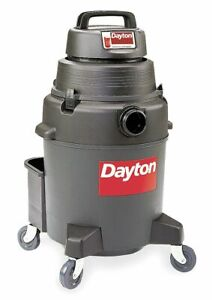 Dayton 10 Gal Commercial 2 Wet dry Vacuum 7 4 Amps Hepa Filter Type