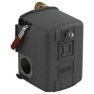 Square D Air Compressor Pressure Switch Range 40 To 150 Psi Port Type 1
