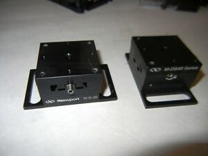 Newport Compact Dovetail Linear Stage M ds25 x W M b 2b Base Metric Lot Of 2