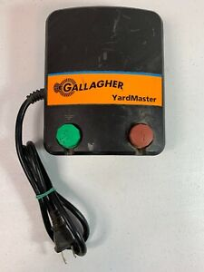 Gallagher Yardmaster M20 Electric Fence Charger Horse Cattle Ships Free