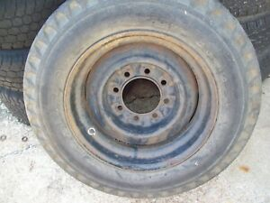 1 Vintage Chevy 8 Lug Steel Wheel 8 25 x16 5