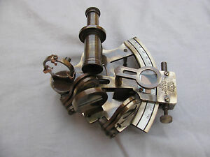 Antique Sextant Vintage Sextant 4 Nautical Navigation Wrking Antiq Brass Marine
