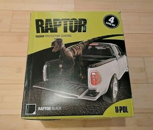 U Pol Raptor Truck Bed Liner 4 Liter Kit Spray Gun No Tax Free Shipping
