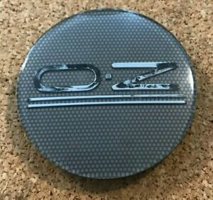 1 Used Oz Racing Silver Center Cap Part M582 Pch91 Free Shipping