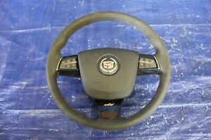 2012 Cadillac Cts V Coup Lsa 6 2l Oem Leather Steering Wheel W Horn 1163