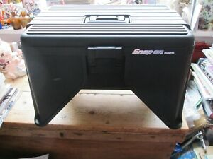 Snap On Step Stool With Tool Storage And Tray Classic Heavy Duty Black