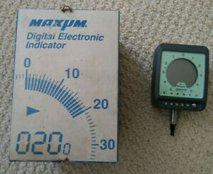 Federal Maxum 0001 Model Dei 11111 Digital Electronic Indicator Used