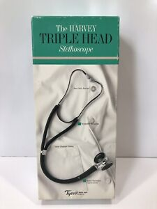 Vintage Tycos Triple Head Stethoscope