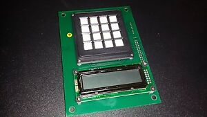 Red Jacket Gas Pump Parts Lcd Display Keyboard 9000 Board 530 040 5
