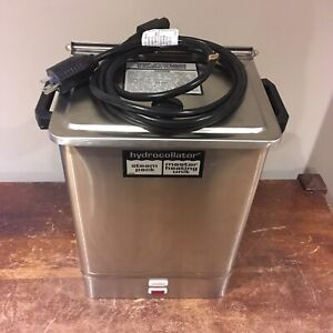 Chattanooga Hydrocollator Model E 1 Towel Steam Master Heating Unit For Parts