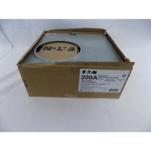 Eaton Utrs223ach Meter Socket 200a 600v 1ph 3wire Ringless Outdoor