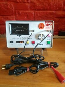 Associated Research 4040at Hypot And Ground Continuity Tester In Orig Box Sfh