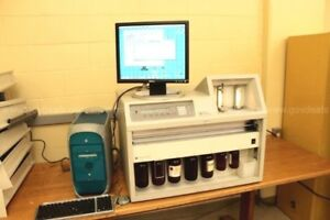 Abi Applied Biosystems 433a Peptide Synthesizer W computer And Accessories