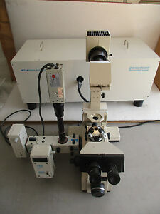 Olympus Imt 2 Microscope W Pti Deltascan D104 Photometer 710 Photon Detection