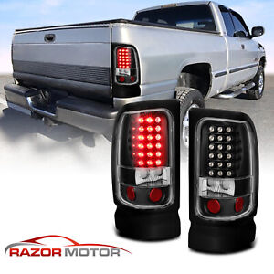 1994 2001 Dodge Ram 1500 1994 2002 Ram 2500 3500 Black Led Brake Tail Lights