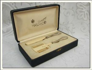 1920 S French Silver Bakelite Baby Brush Grooming Set Visit My Store