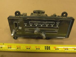 Heater Ac Controls 73 87 Chevy Gmc Truck Air Conditioning 16022092 2