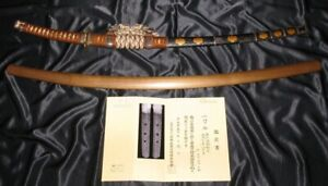 Nbthk Sign Dated 1513 Bizen Koto Tachi Sukesada Japanese Samurai Sword Katana