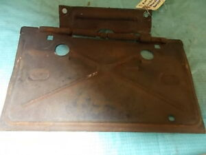 1971 Chevy Monte Carlo License Plate Holder For Parts Original