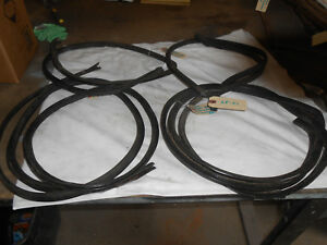 1968 Dodge Coronet 440 4 Door interior Door Pinch Weld Trim set Of 4