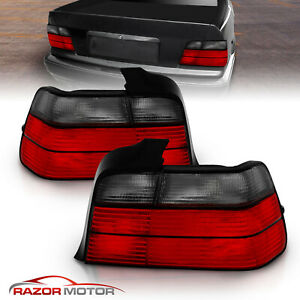 1992 1993 1994 1995 1996 1997 1998 Bmw E36 4dr Sedan Smoke Tail Lights Pair