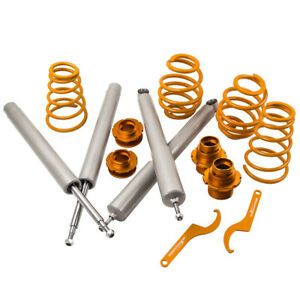 Lowering Suspension Coilovers Kit For Bmw E30 3 Series Saloon Coupe Cabrio New