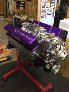 383 Stroker Crate Motor 500hp Roller Turn Key Pro Street Chevy Crate Engine