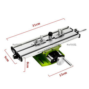 Multifunction Precision Milling Machine Vise Fixture Bench Drill 2axis Worktable