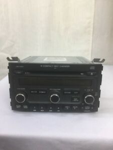 06 08 Honda Pilot Car 6 Disc Cd Player Radio Stereo 1tv6 Oem Panasonic Tested