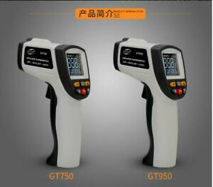 Infrared Lcd Digital Laser Thermometer Non Contact Temperature Gun For Gt750 950