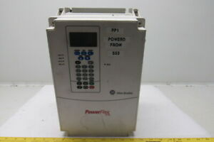Allen Bradley 20ad027a0aynanc0 Power Flex 70 480v 20hp Variable Frequency Drive