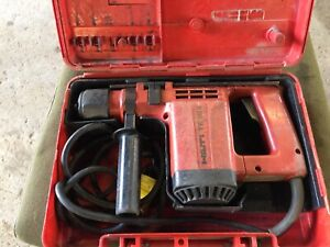 Hilti Te12s And Case