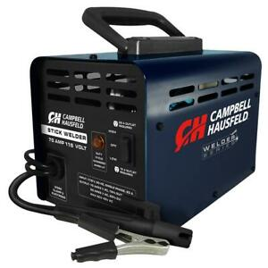 Campbell Hausfeld Stick Welder Thermal Overload Protection Durable 70 Amp 115v