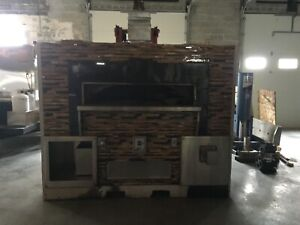 Wood Stone Fire Deck 9660 Coal Pizza Oven