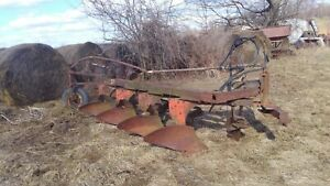Case Semi Mount Plow 4 Bottom Three Point Moldboard John Deere Minnie Oliver